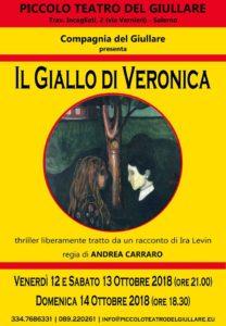 IL GIALLO DI VERONICA - Stagione 2018-2019 del Piccolo Teatro del Giullare
