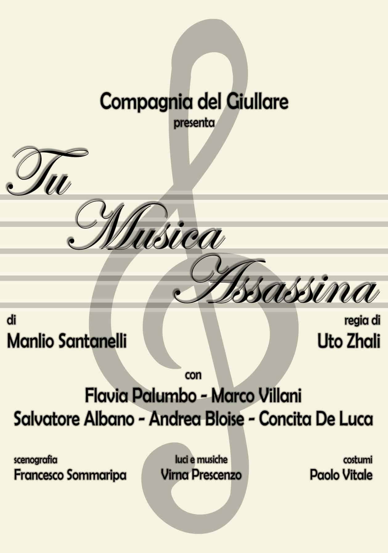 TU MUSICA ASSASSINA